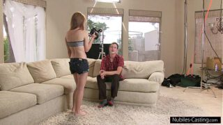 Nubiles Casting – Can he convince her to fuck on camera?