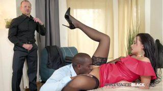 PrivateBlack – Hot Daphne Klyde Butt Fucked By BBC & Husband