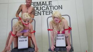 Real extreme BDSM with intense anal pain and two bdsm girls