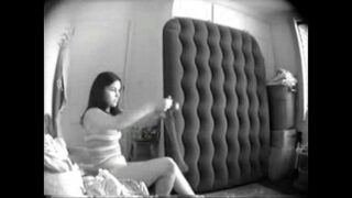 Great view of my sister totally naked. Hidden cam