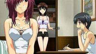 Step Sister and Brother Caught in Action | Hentai